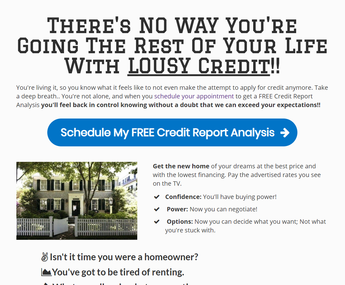 Did You Get Your Credit Repair Funnels For 10X The Clients!